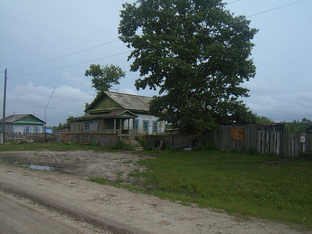 село Георгиевка. вид на восток, Ромны
