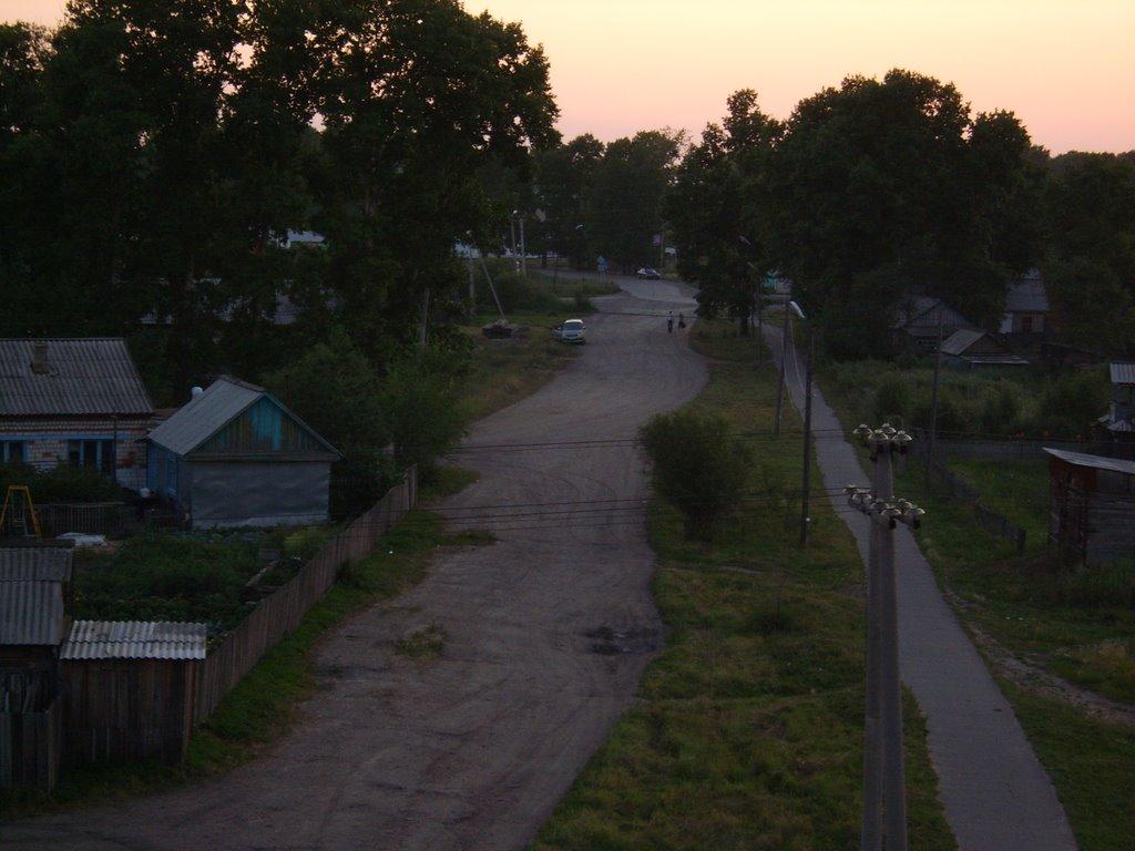 Великий путь за линию, Серышево