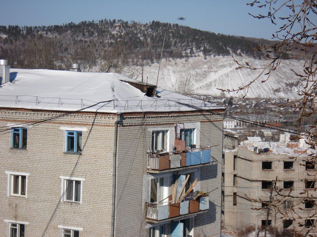 Вид с 5-ого этажа съемной квартиры:)), Сковородино