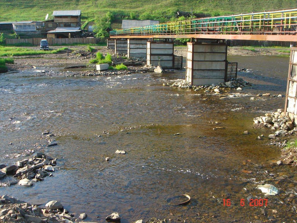 мост через р,Невер, Сковородино