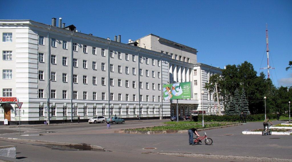 Медицинская академия, Архангельск, 11/08/2008, Архангельск