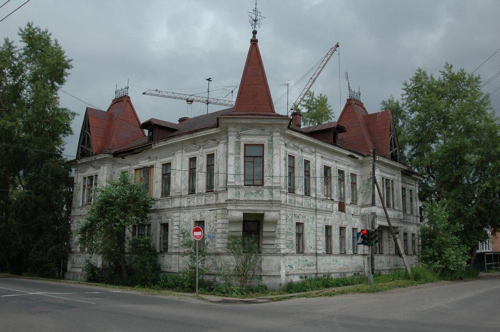 Дом на Поморской - Ломоносова, Архангельск