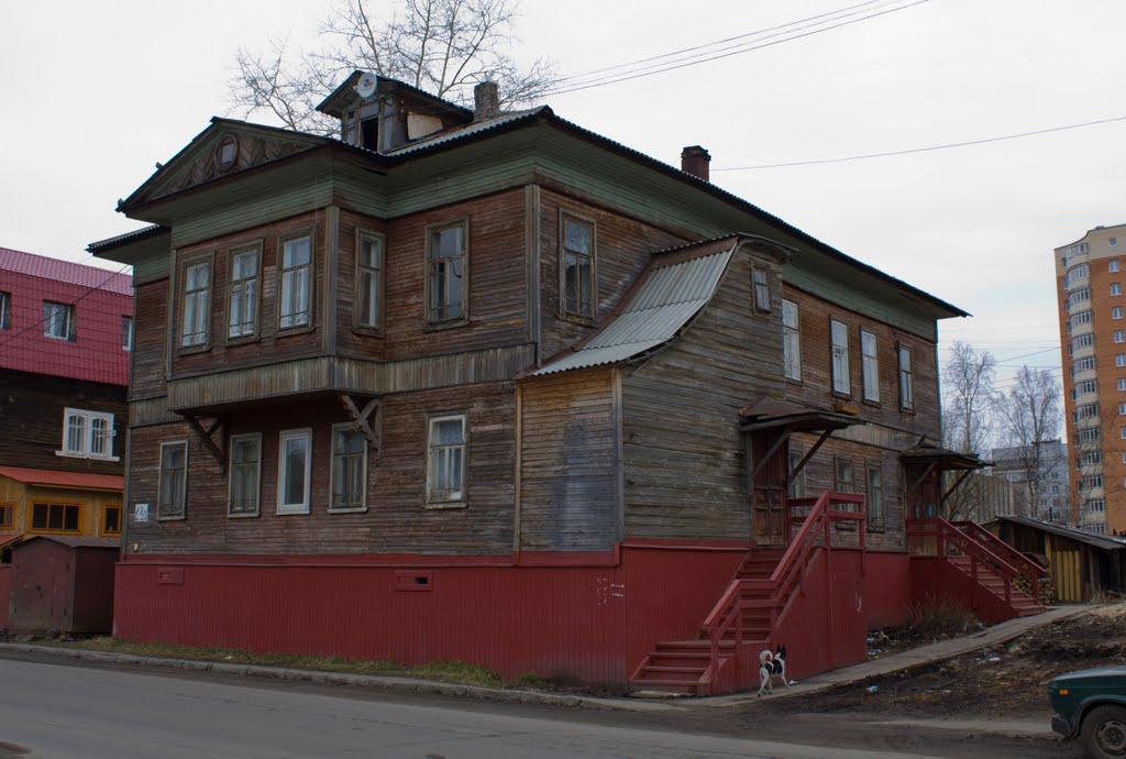 Дом Гендриксена, Архангельск