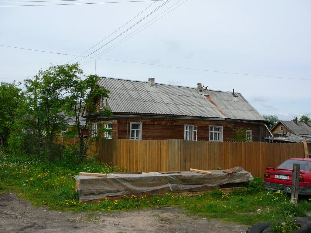 Вельск, ул. Комарова, Вельск