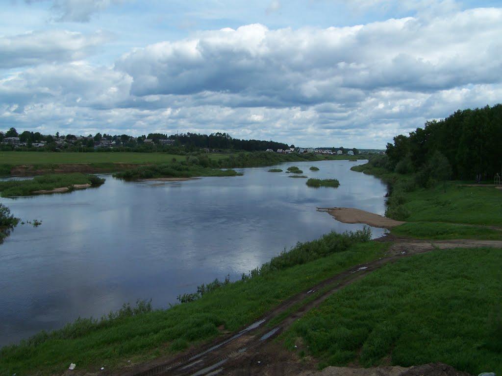 Вельск, река Вель, Velsk, Vel, Вельск