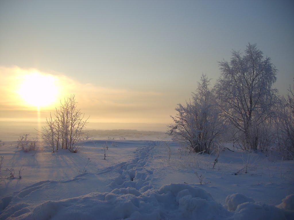 мороз, Верхняя Тойма