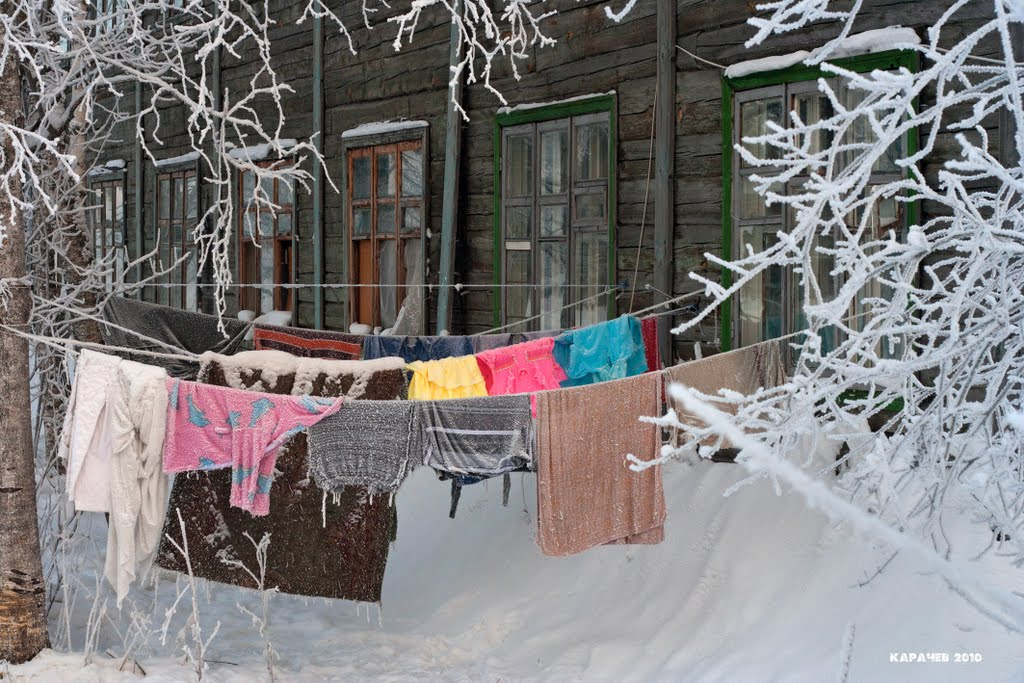 Морозным утром 25 декабря 2010, Каргополь