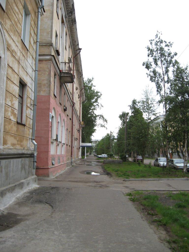 Тротуар на Торцева, Северодвинск
