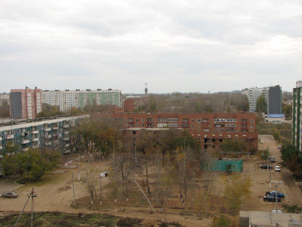 Нариманов (северная часть) с 9-го этажа, 2, Нариманов