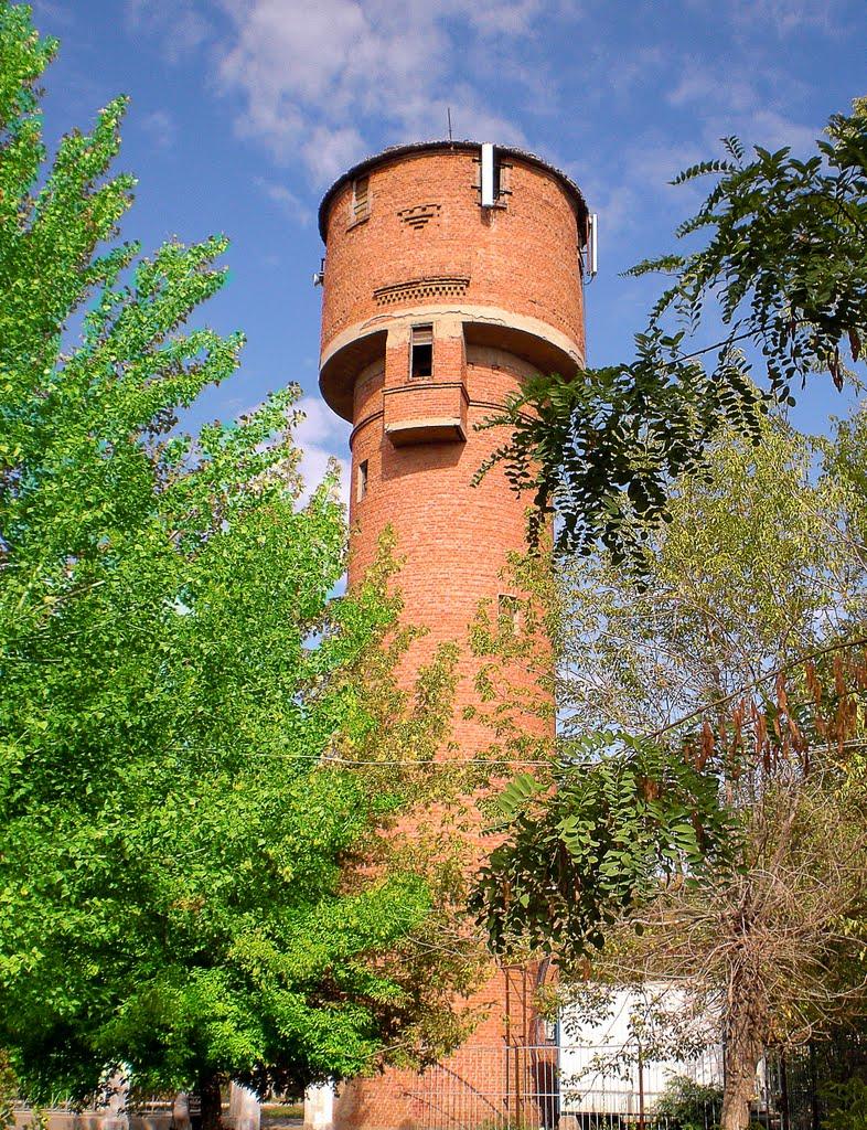 Водонапорная башня, Ахтубинск