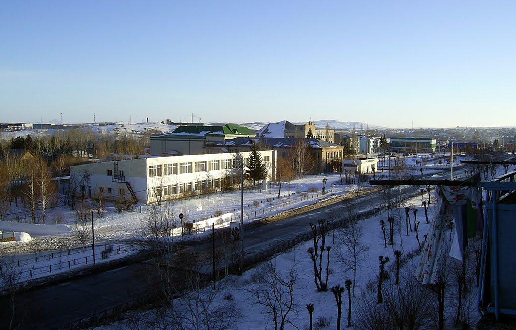 Проспект им. С.Юлаева, Баймак