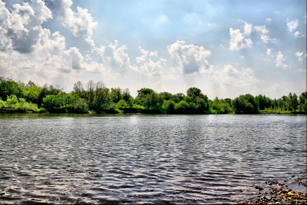 река Белая, пос. Зирган, Зирган