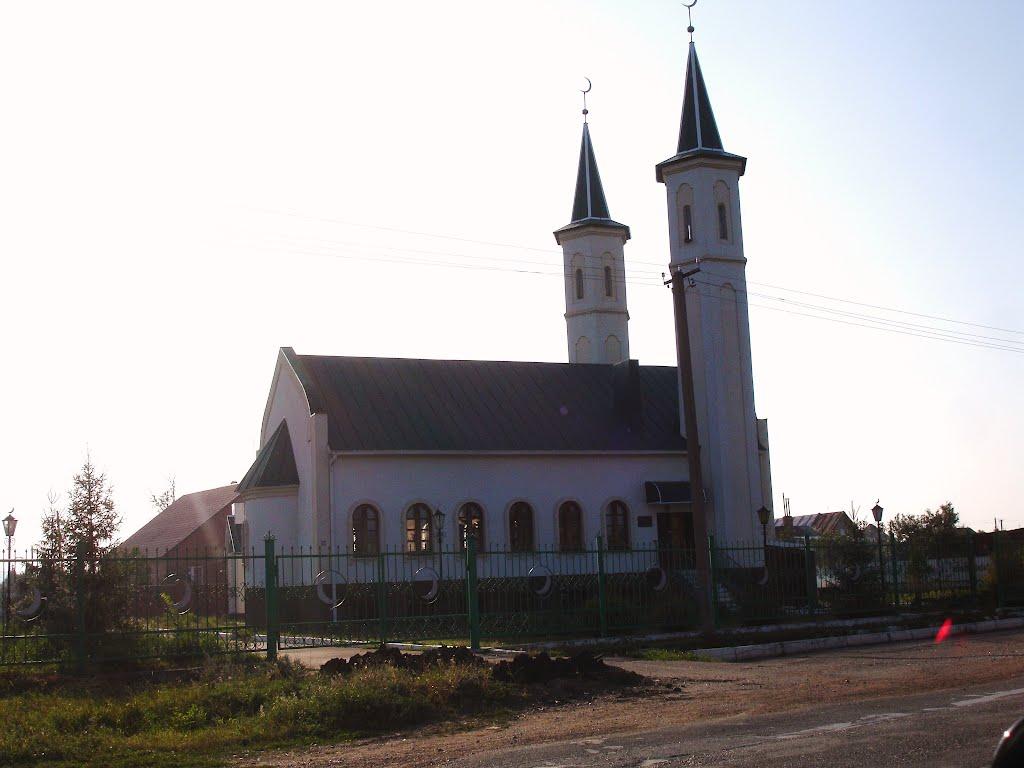 Мечеть в Зиргане., Зирган