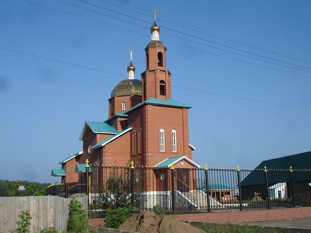 Церковь в Зиргане., Зирган