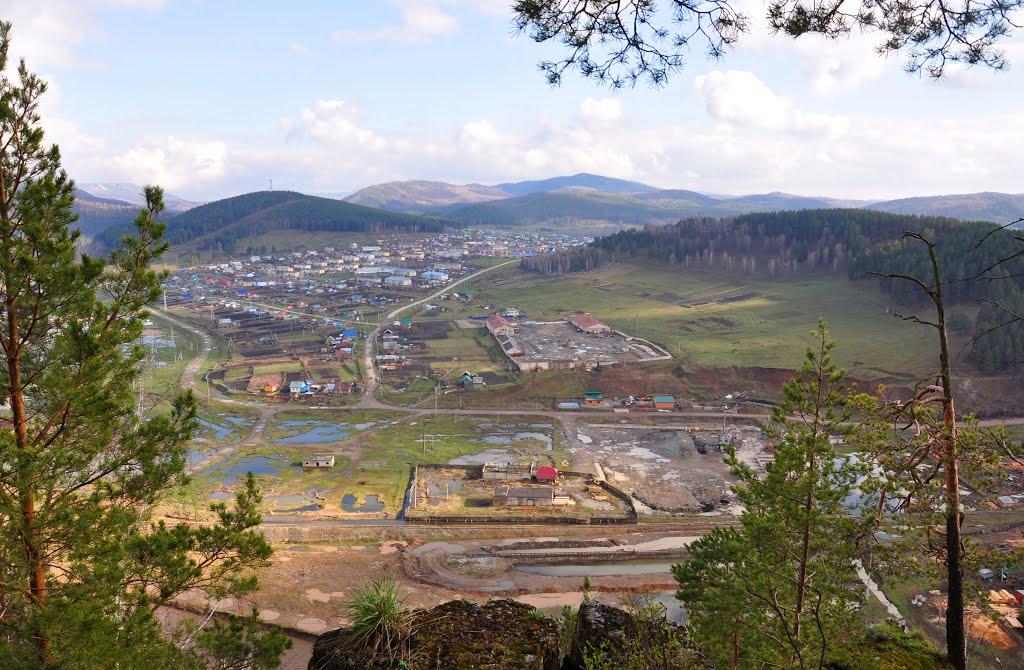 Вид на поселок Инзер, Инзер