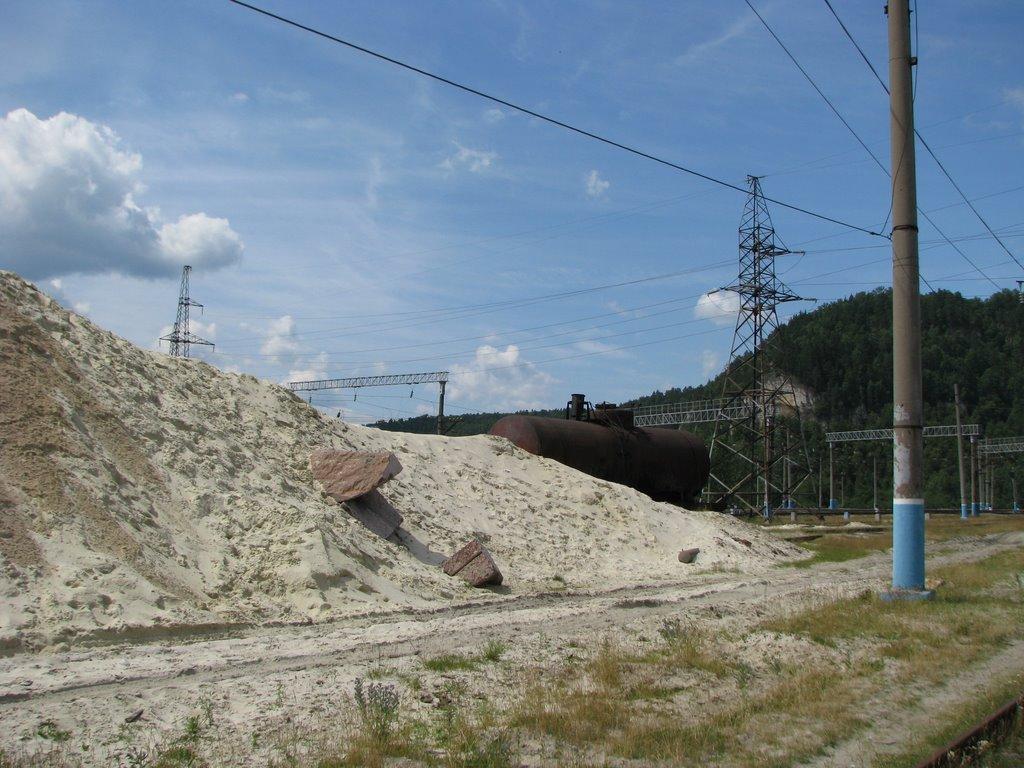 На станции Инзер. июль 2009., Инзер
