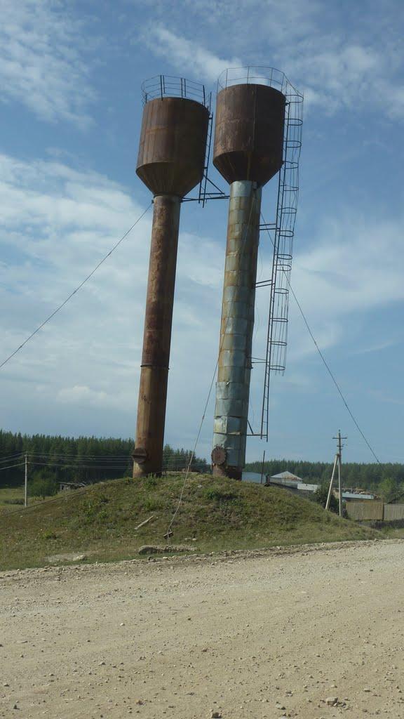 Водонапорные башни, Кананикольское