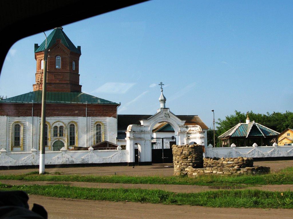 Пророко-Илиинский мужской монастырь (с. Месягутово), Месягутово
