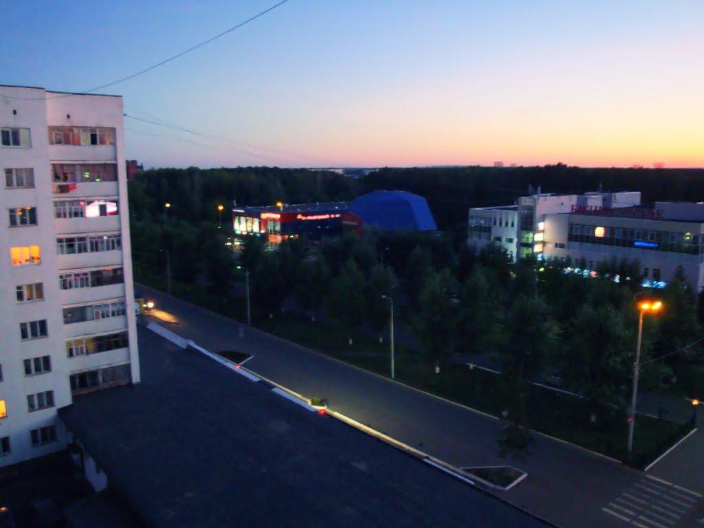 с балкона Елены, Нефтекамск