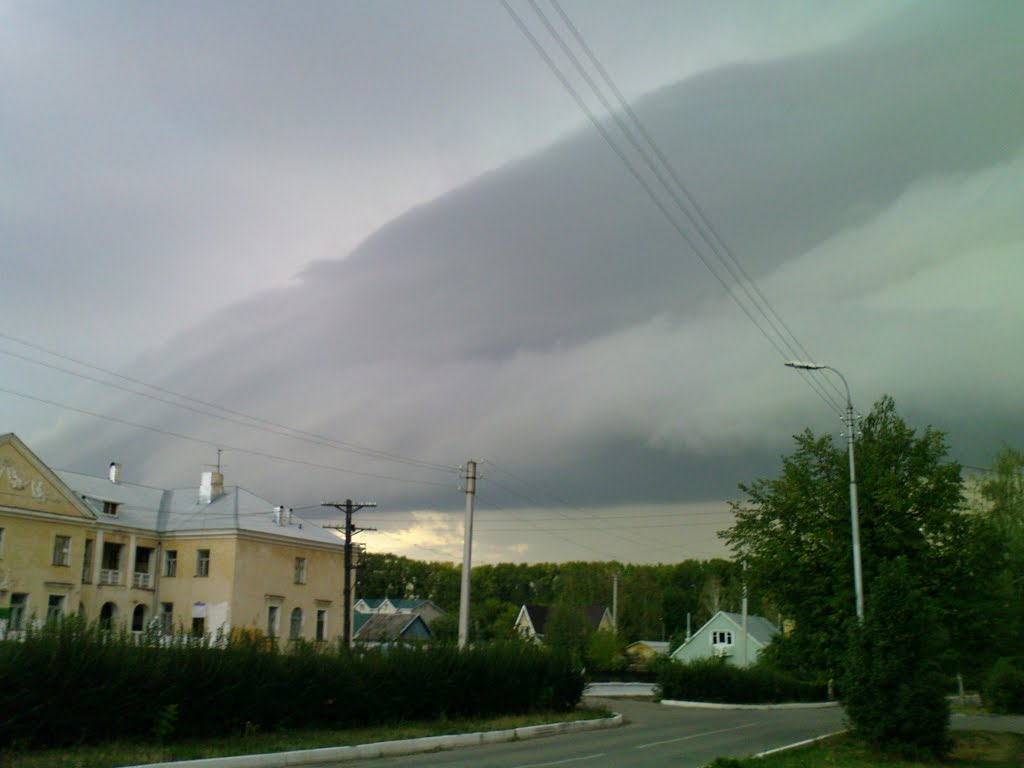 Встреча дождевых туч, Октябрьский