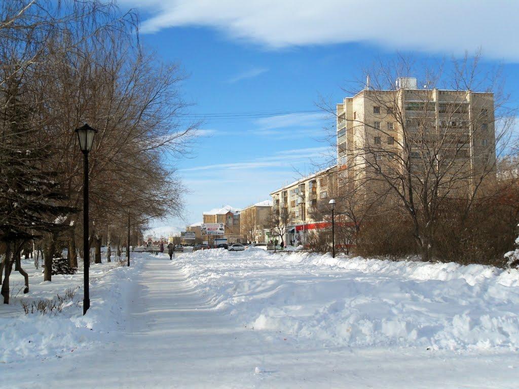 Парк Победы, Сибай