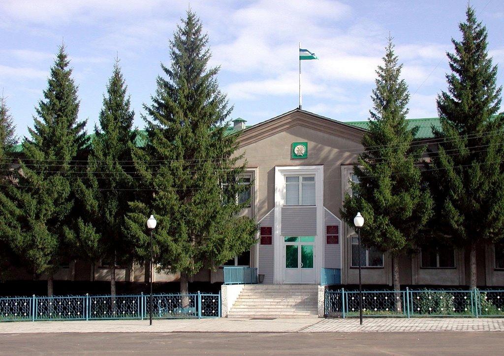 Здание администрации района, Шаран