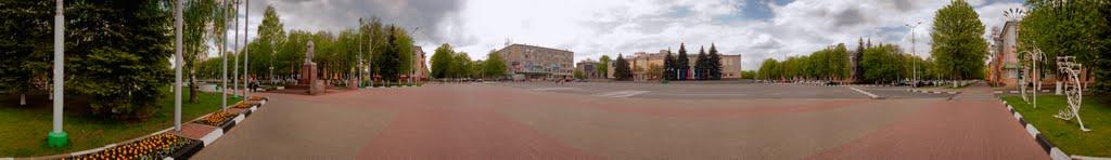 Площадь Ленина, Губкин