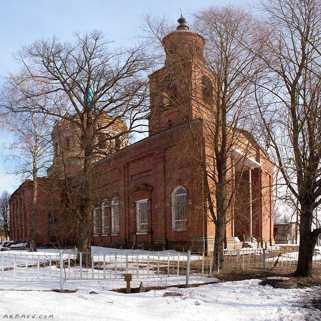 Церковь Покрова Пресвятой Богородицы, Ивот