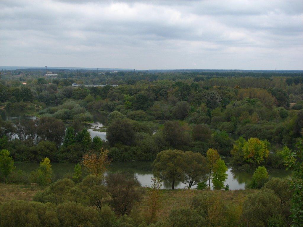 Осенний вид с Чашина кургана, Кокаревка