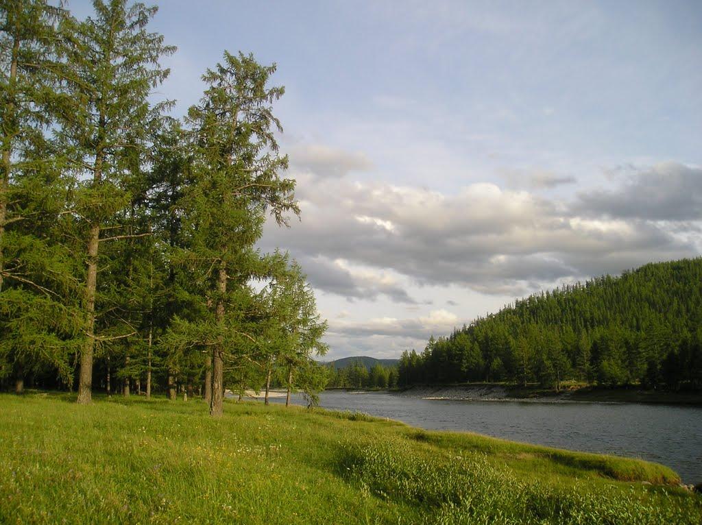 Начало сплава недалеко от с.Орлик, Орлик