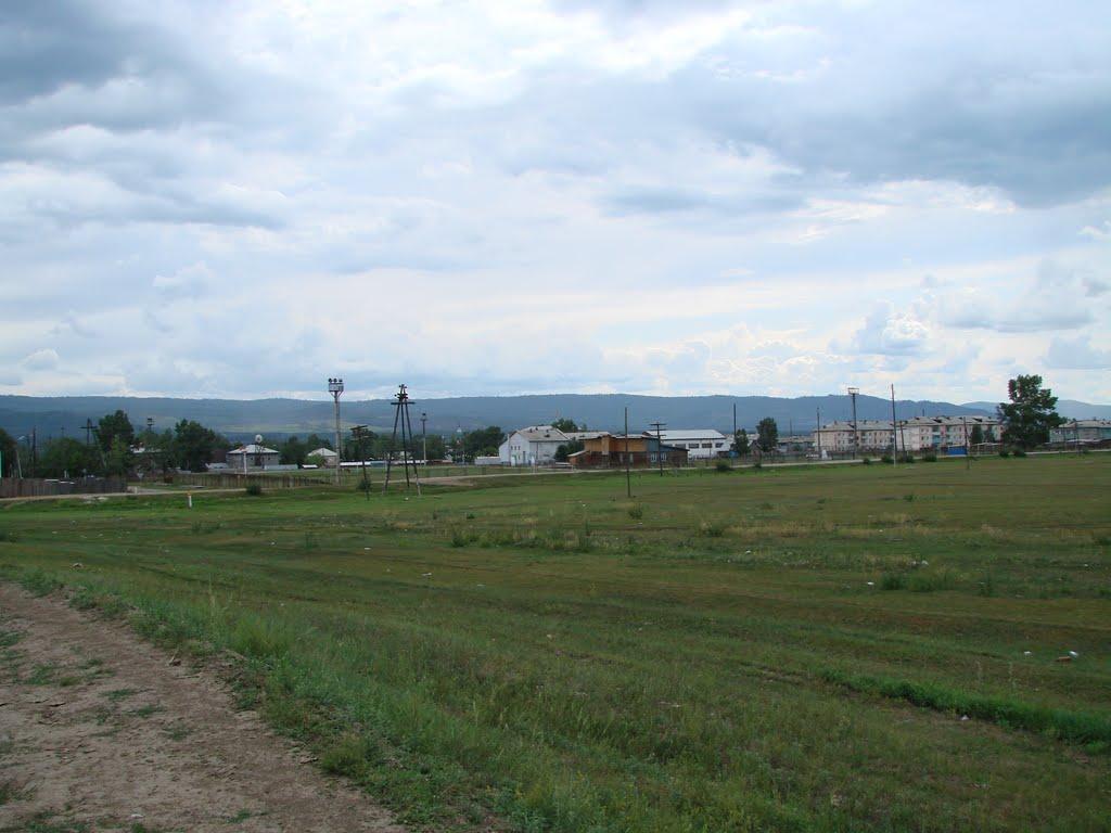Вид на посёлок, Турунтаево