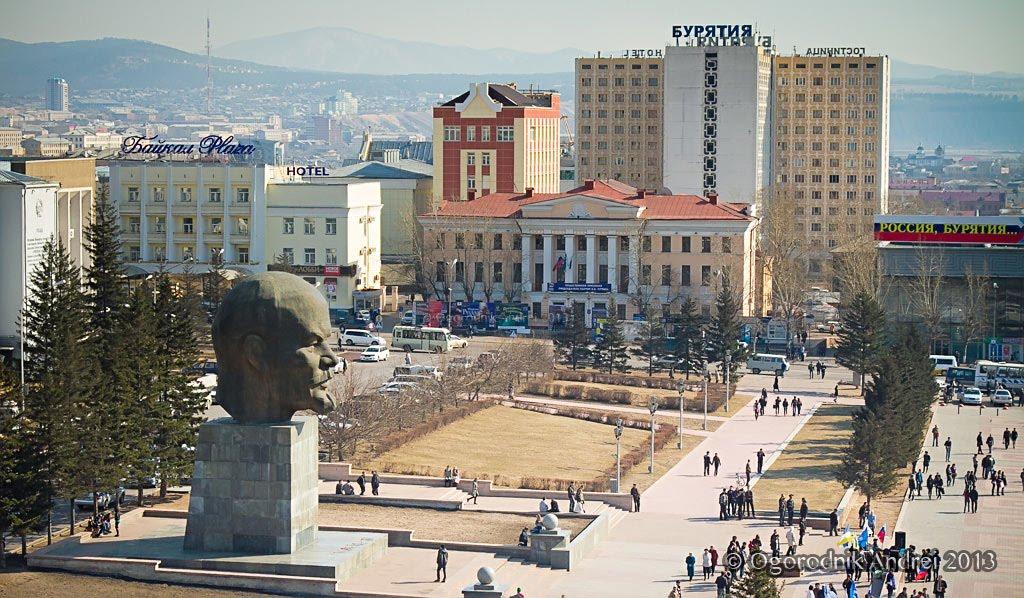 Улан-Удэ.Площадь Советов., Улан-Удэ