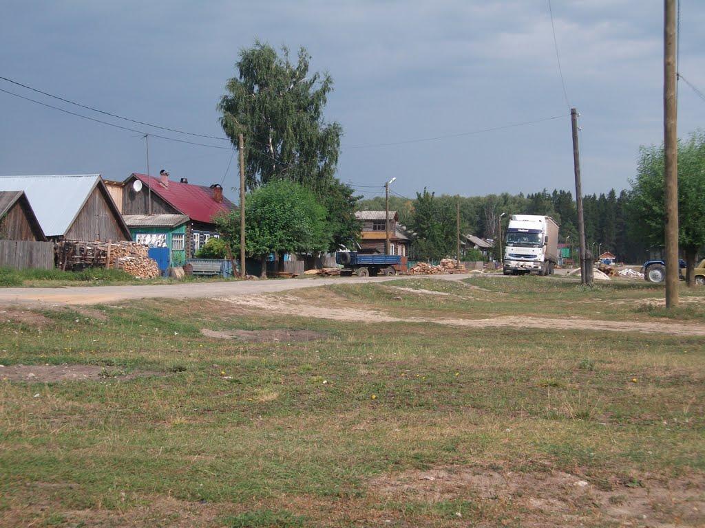 На ул. Комсомольская., Андреево