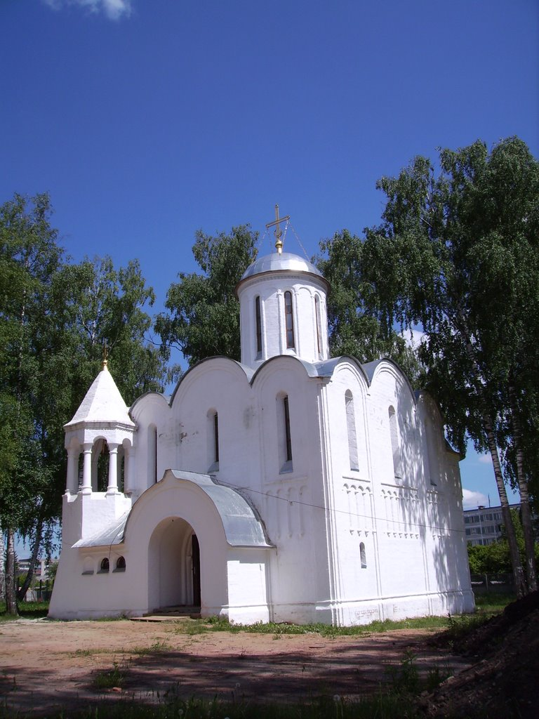 Церковь Рождества Богородицы в Балакирево, архитектор Андрей Анисимов, 2003 год, Балакирево