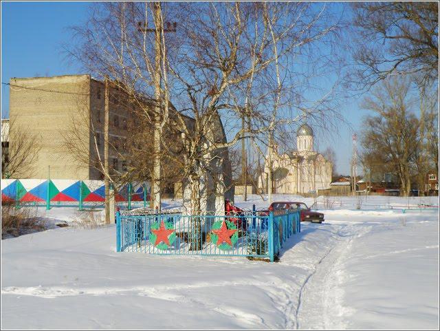 Памятник солдатам, умершим от ран в госпитале 3382 в 1943г., пос. Золотково, Золотково