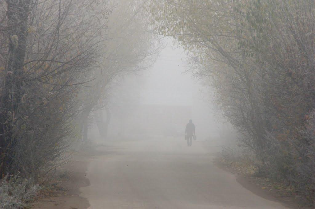 Где Осень Встретилась с Зимой, Камешково