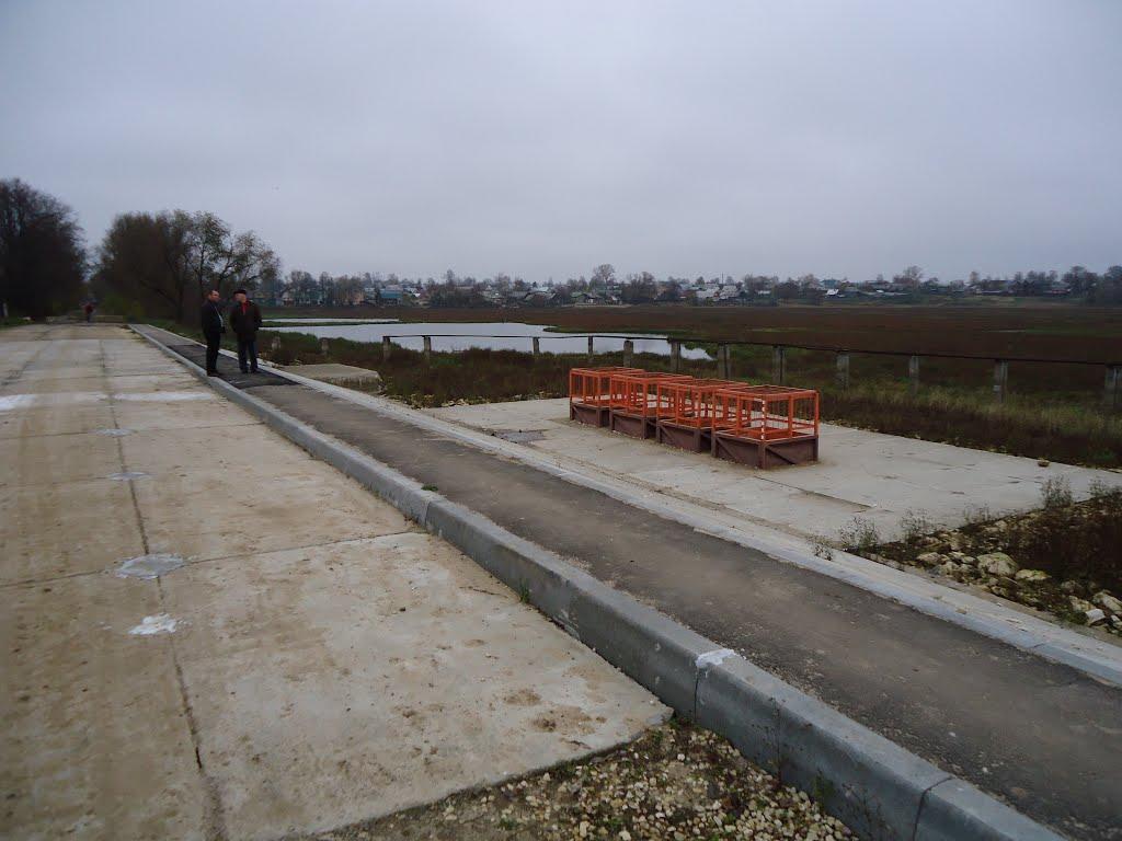 Плотина после капремонта-2 (водосброс), Киржач