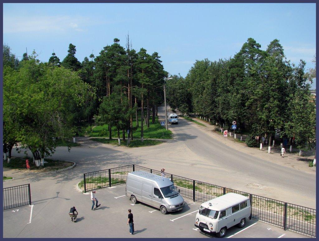 Пересечение ул.Чернышевского и ул.Т.Павловского., Ковров