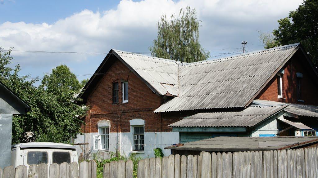 заводские дома, Кольчугино