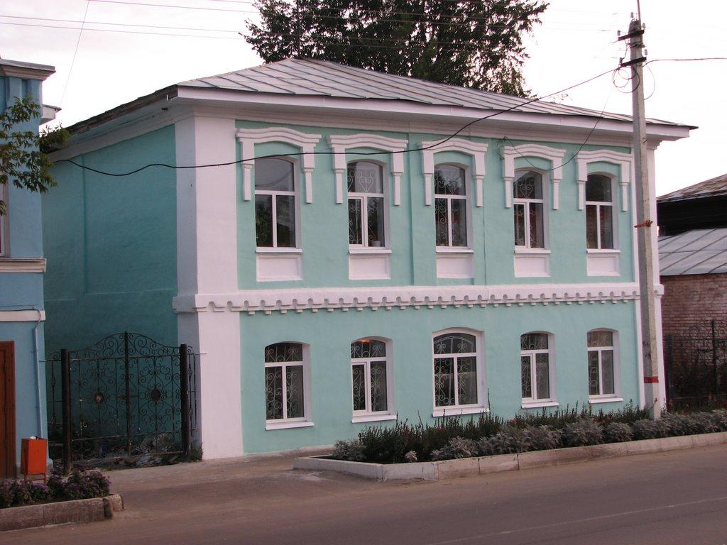 районная библиотека (ул. Коммунистическая), Меленки