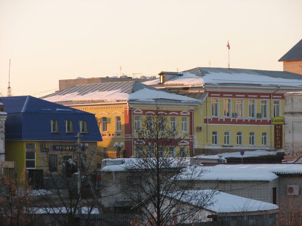 Вид на Главную Улицу Города (View On The Main Street Of The Town), Меленки