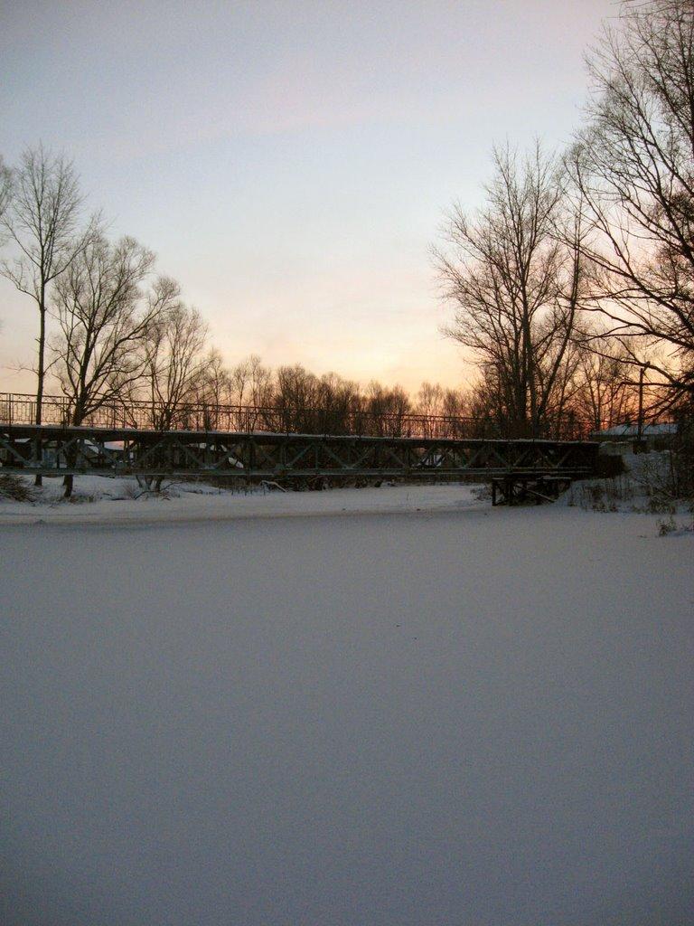 Мост через р.Унжа, Меленки