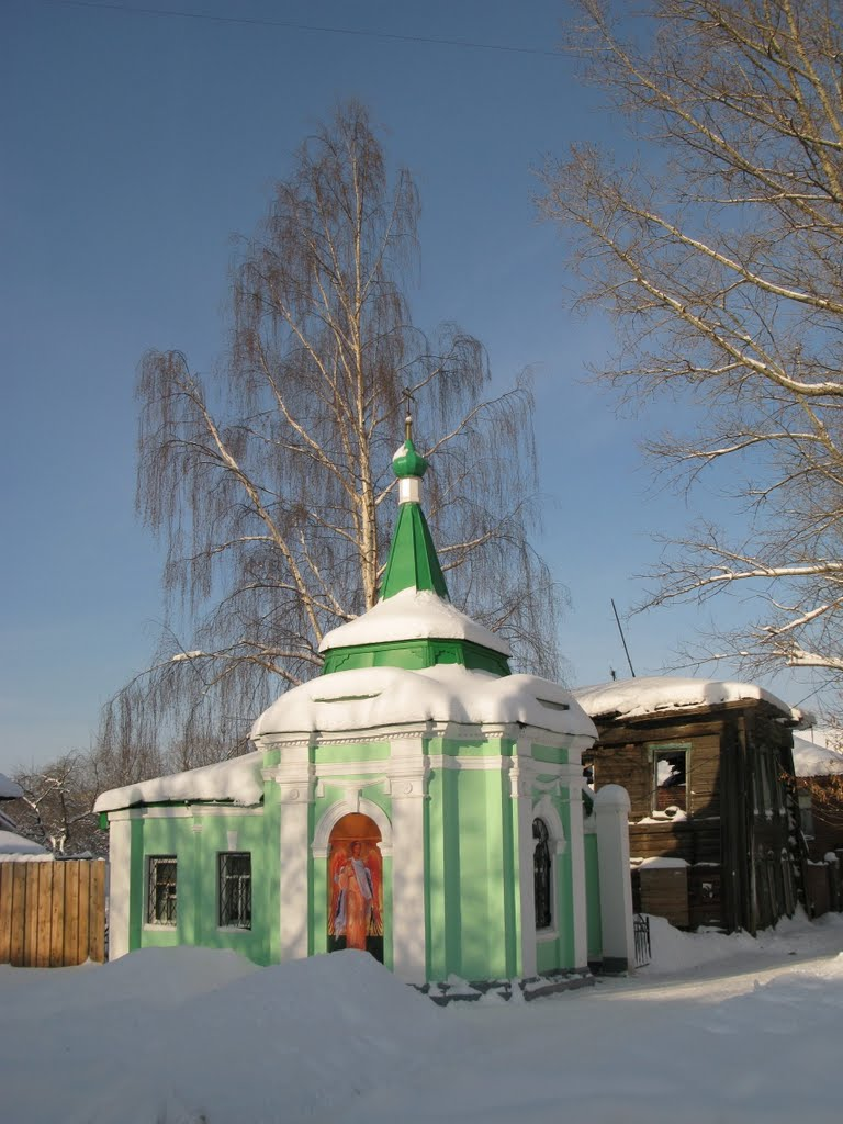 Chapel and sping, Муром