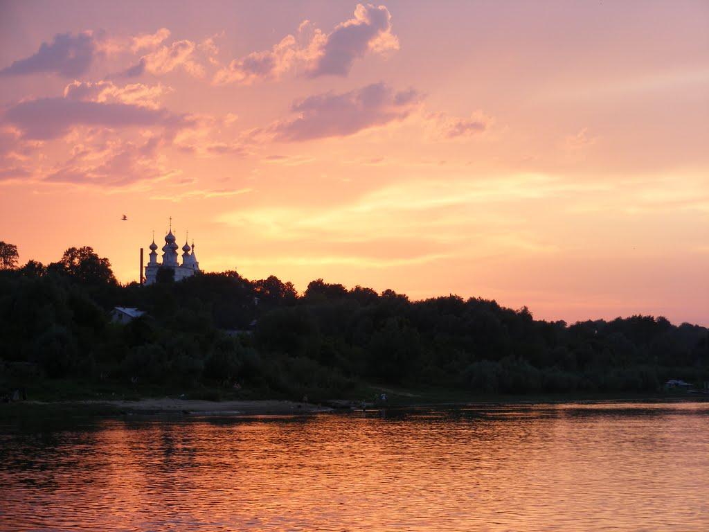 Закат над Окой, Муром