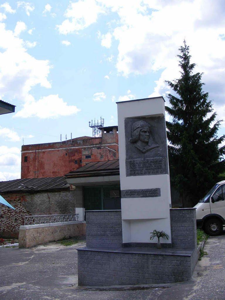 Памятник  Краснухину, Муром