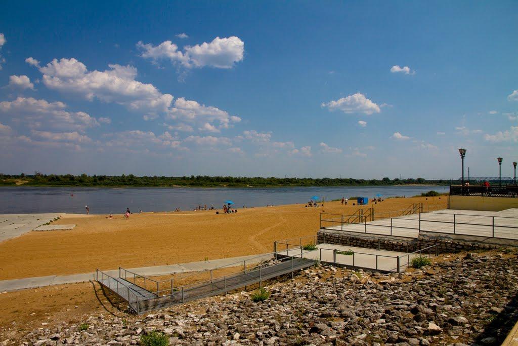Муром, городской пляж, Муром
