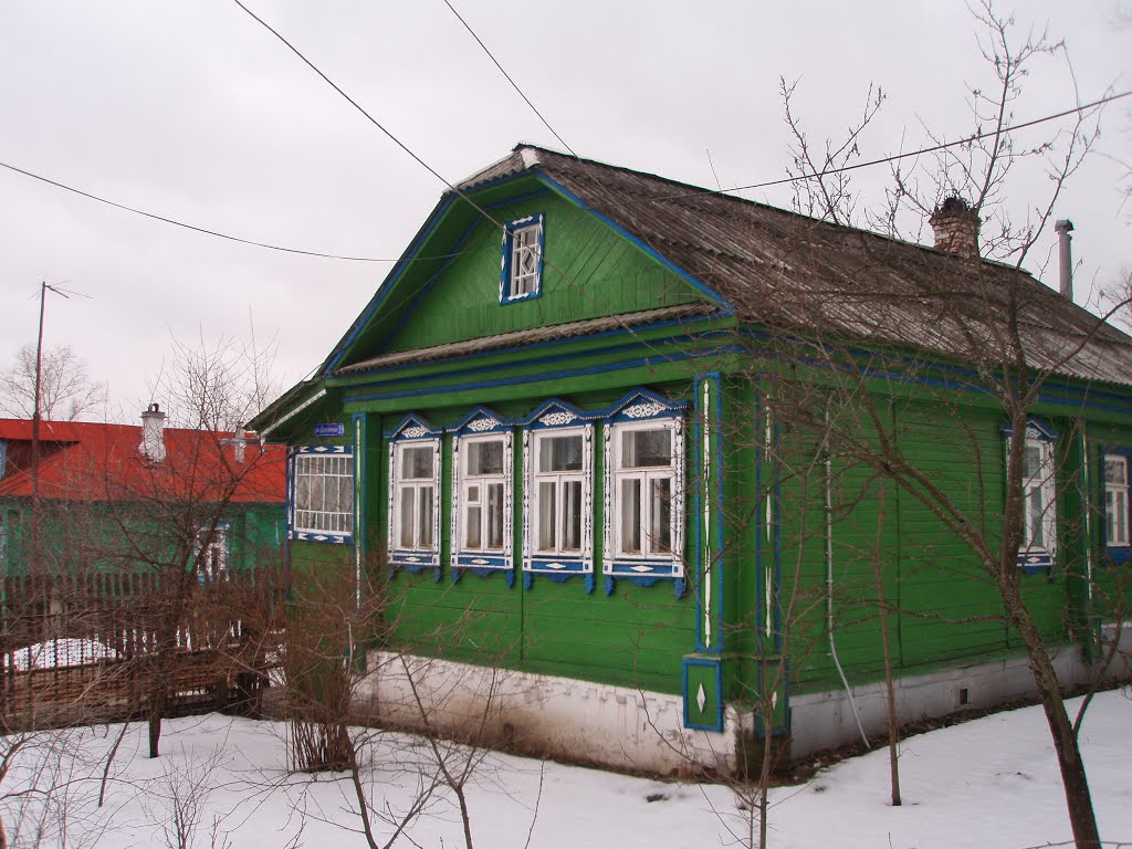 House #19 on Sovetskaya street, Петушки