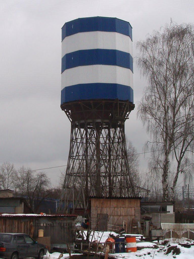 Vladimir Shukhovs water tower in Petushki, Петушки