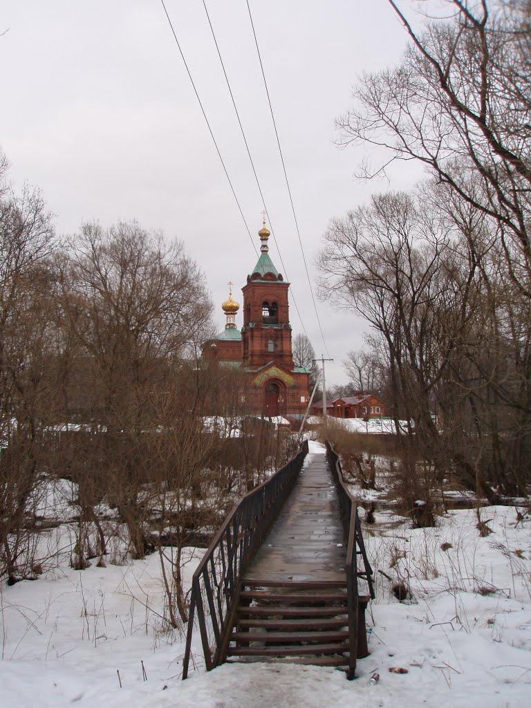 Bridge in Profsoyouznaya street, Петушки
