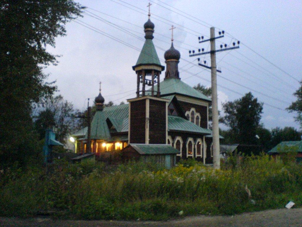 Церковь у станции в Петушках, Петушки